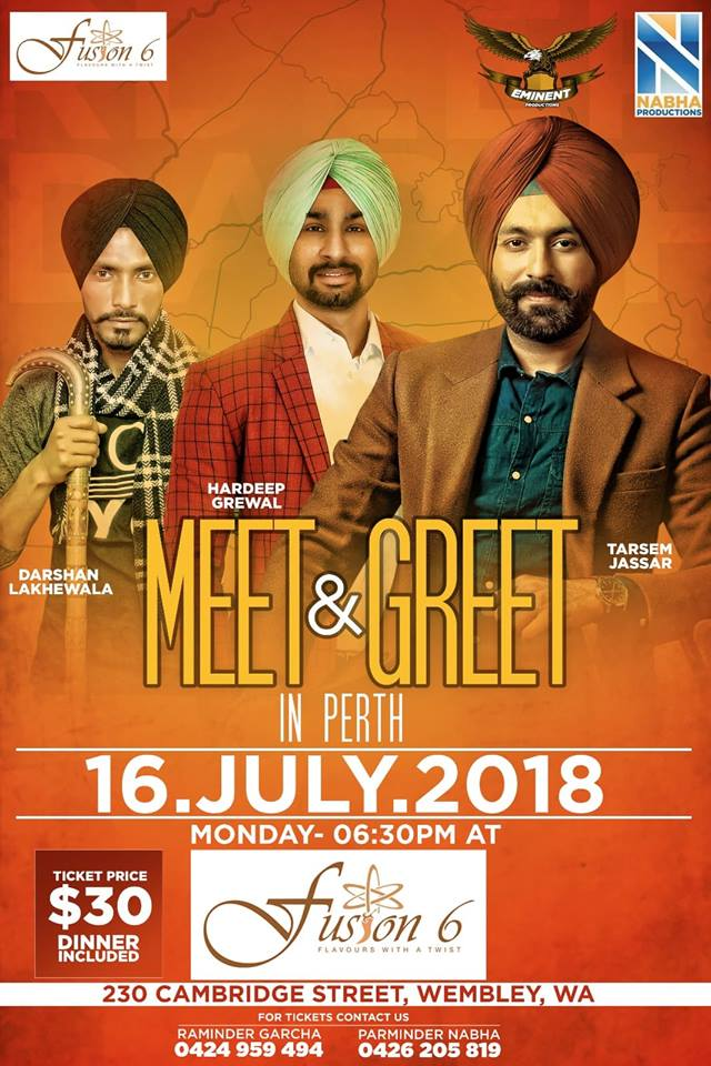 Meet & Greet With Team Turbanator – Perth