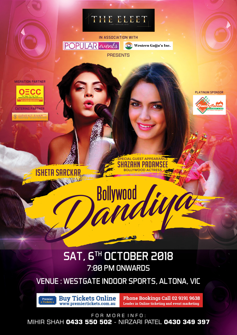 Bollywood Dandiya Night with Isheta Sarckar