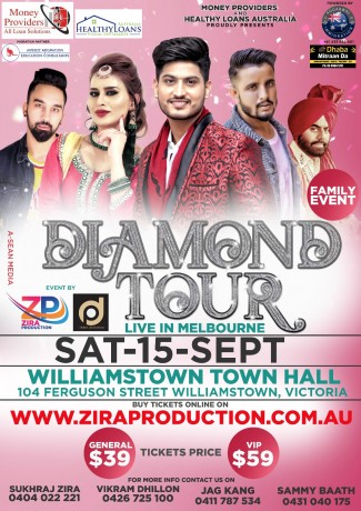 Diamond Tour Live In Melbourne