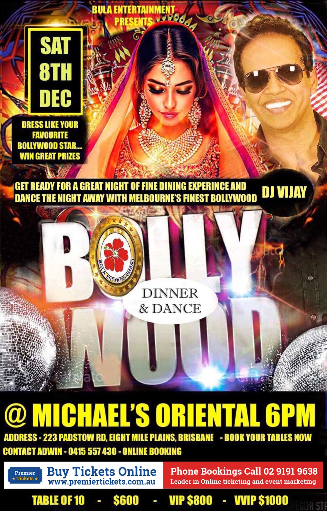 BOLLYWOOD @ MICHAEL'S
