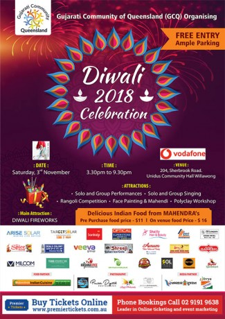 GCQ Diwali 2018 Celebration