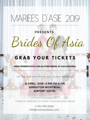 BRIDES OF ASIA – MONTREAL Canada