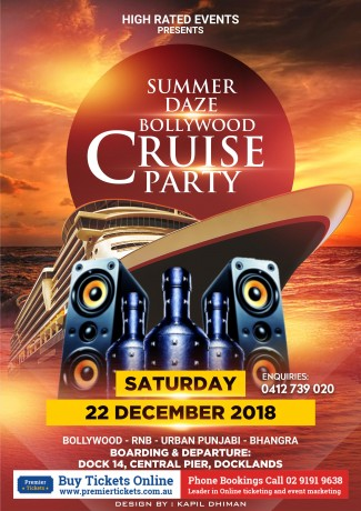 SUMMER DAZE – BOLLYWOOD CRUISE PARTY