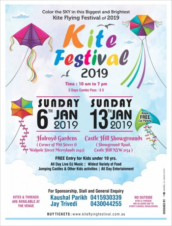 Kite Flying Festival 2019 – Sydney