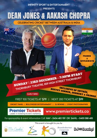 Celebrating Cricket between Australia & India