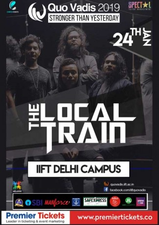 THE LOCAL TRAIN live at IIFT-Delhi