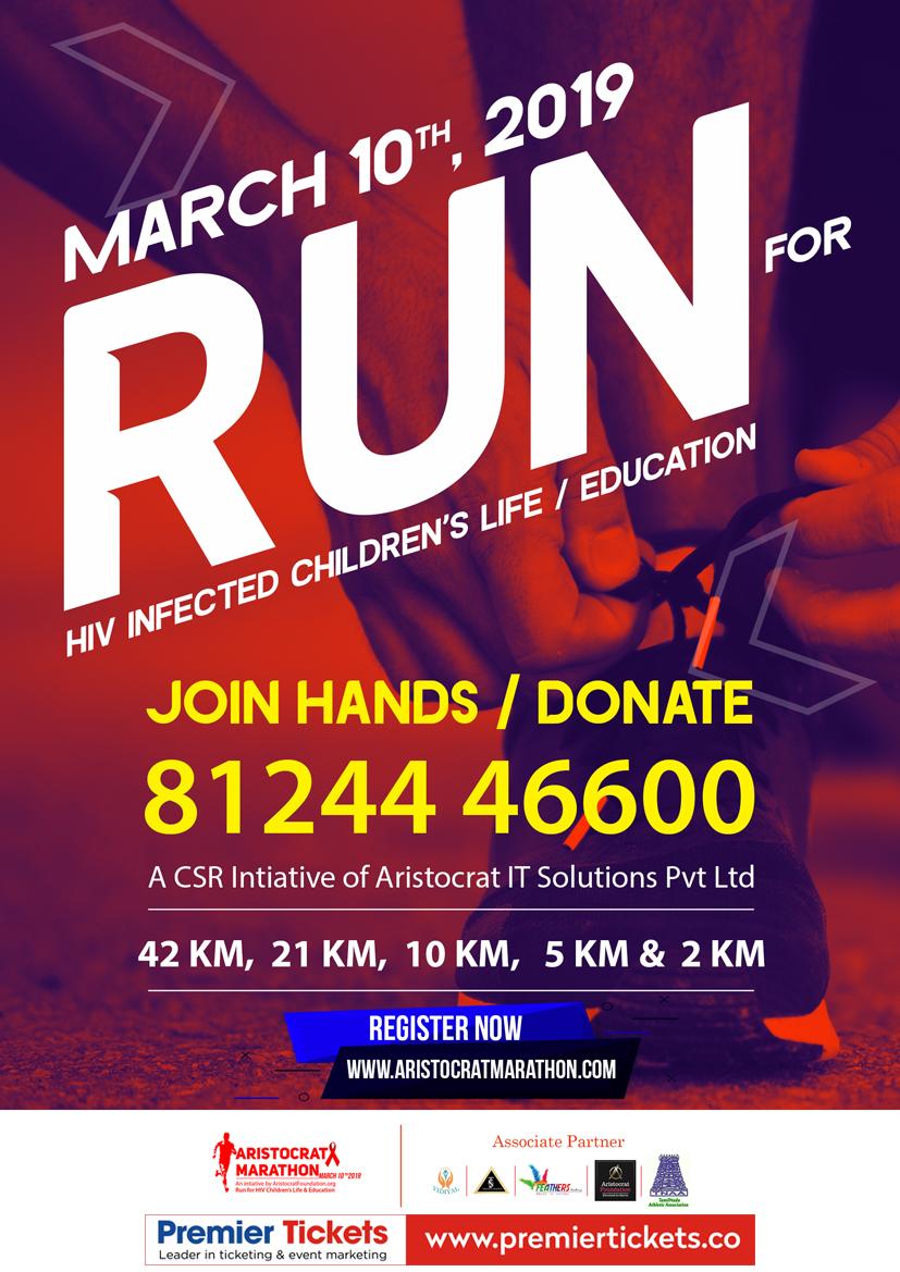Aristocrat Marathon March 10, 2019