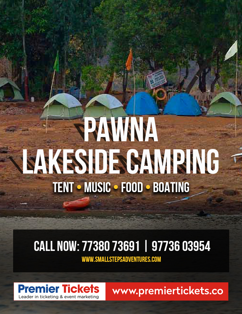 Pawna Lake Camping Kevre Lonavala – 5th February, 2019