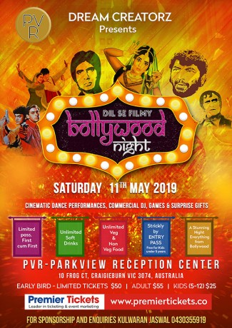 BOLLYWOOD NIGHT – Dil Se Filmy!