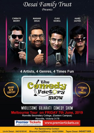 Gujarati Stand up Comedy Show in Melbourne