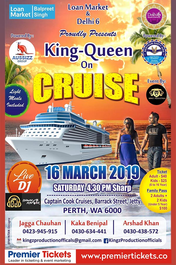 KING-QUEEN on Cruise