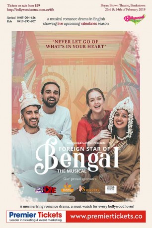 Foreign Star of Bengal – The Musical (23rd Feb, 2019)
