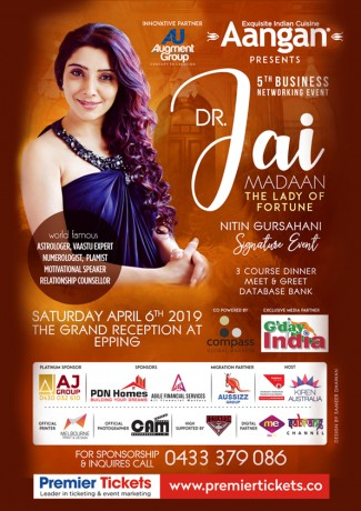 Business Networking Event (Dr Jai Madaaan The Lady Of Fortune)