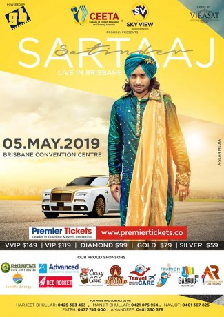 Ecstasy Tour- Satinder Sartaj Live in Brisbane