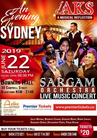 An Evening in SYDNEY – Musical Concert