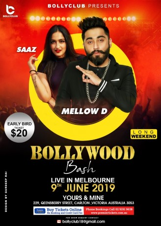 Bollywood Bash Live in Melbourne