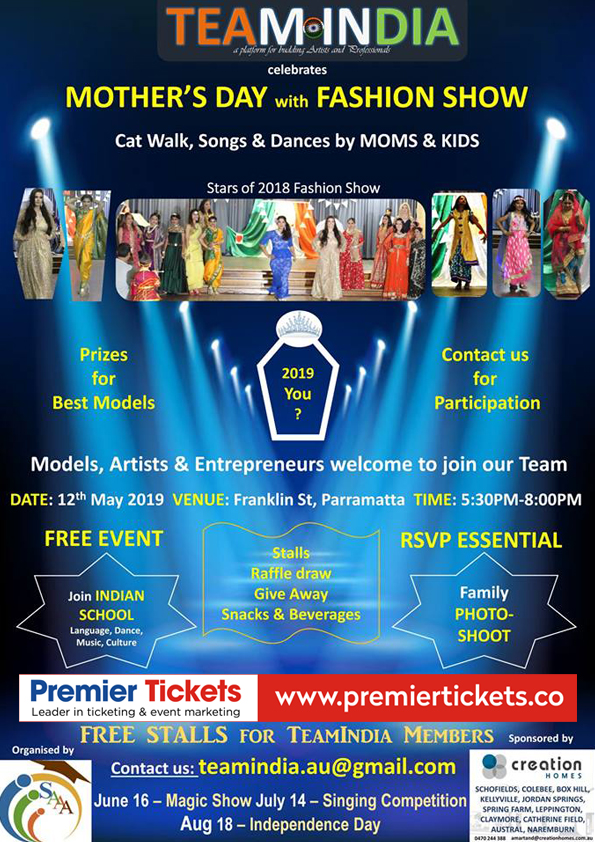 Mother's Day with Fashion Show – Free Entry