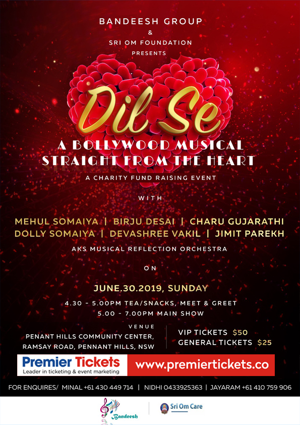 Dil Se – A Bollywood Musical Straight from Heart