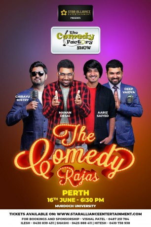 Gujarati Stand up Comedy Show in Perth OLD