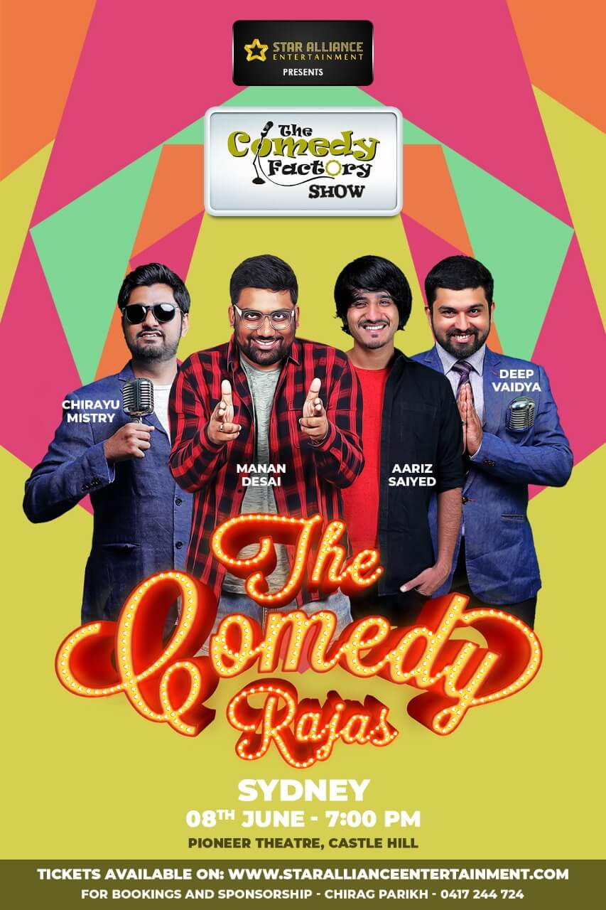 Gujarati Stand up Comedy Show in Sydney