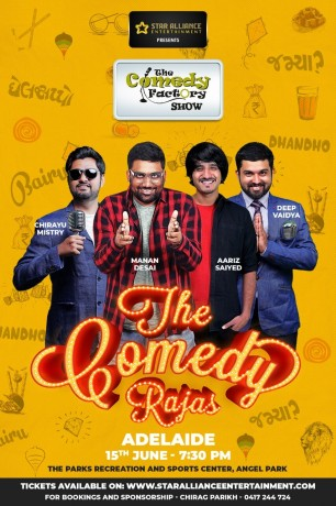 Gujarati Stand up Comedy Show in Adelaide