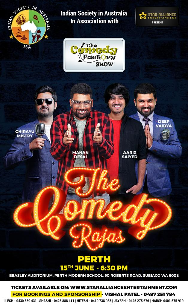 Gujarati Stand up Comedy Show in Perth