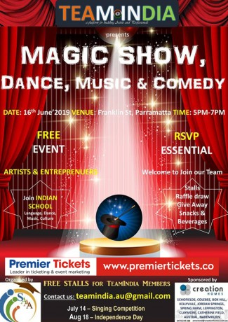 Magic Show – Free Entry