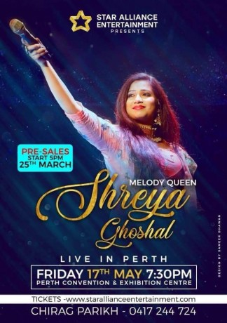 Melody Queen Shreya Ghoshal Live in Perth