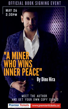 Official Book Signing & Meet and Greet – Dino Hira