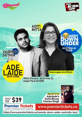 Comedy Down Under – Adelaide