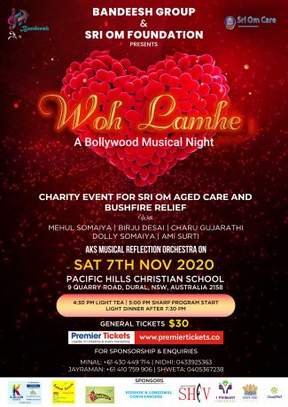 Wo Lamhe - A Bollywood Musical Night by Bandeesh Group