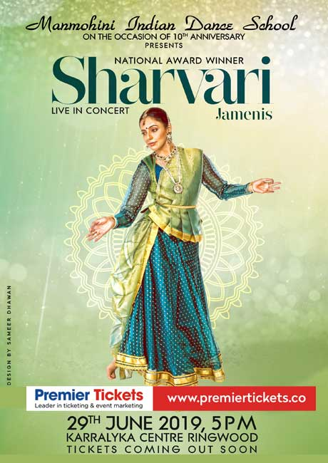 Sharvari Jamenis Live in Concert – Melbourne