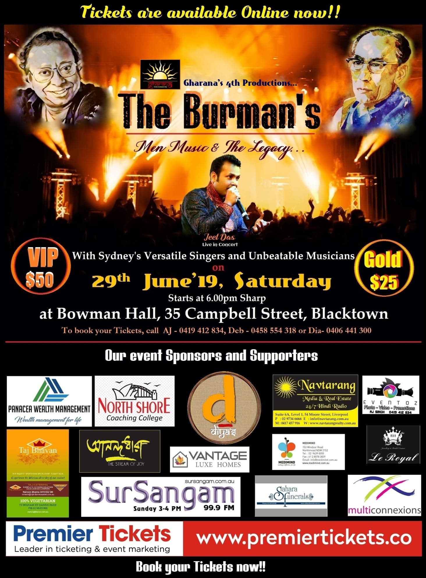 The Burman's – Men, Music & The Legacy