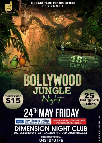 Bollywood Jungle Night – Melbourne