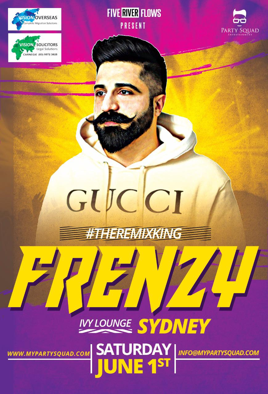The Remix King Frenzy Live in Sydney