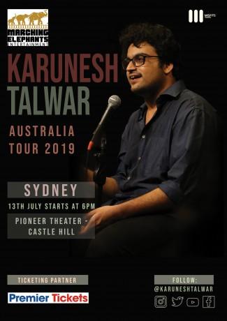 Standup Comedy by Karunesh Talwar – Sydney