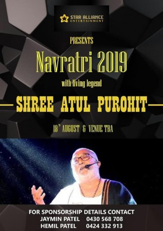 Navratri Dandiya with Atul Purohit in Brisbane 2019