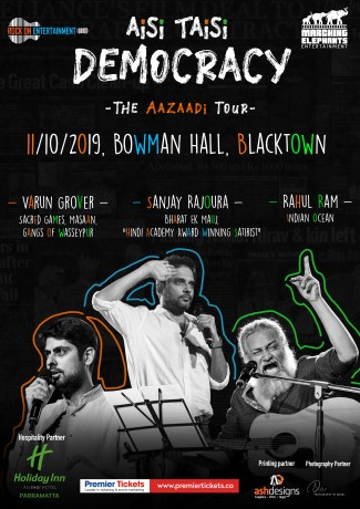 Aisi Taisi Democracy – The Aazaadi Tour Sydney