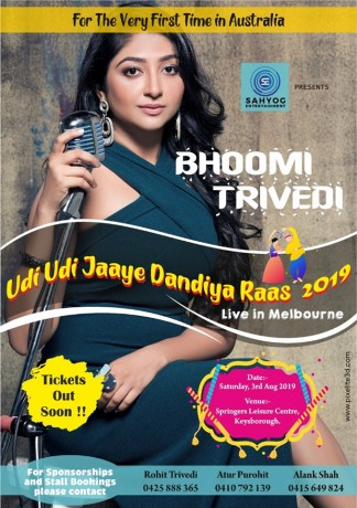 Navratri Dandiya Raas night with Bhoomi Trivedi – Melbourne
