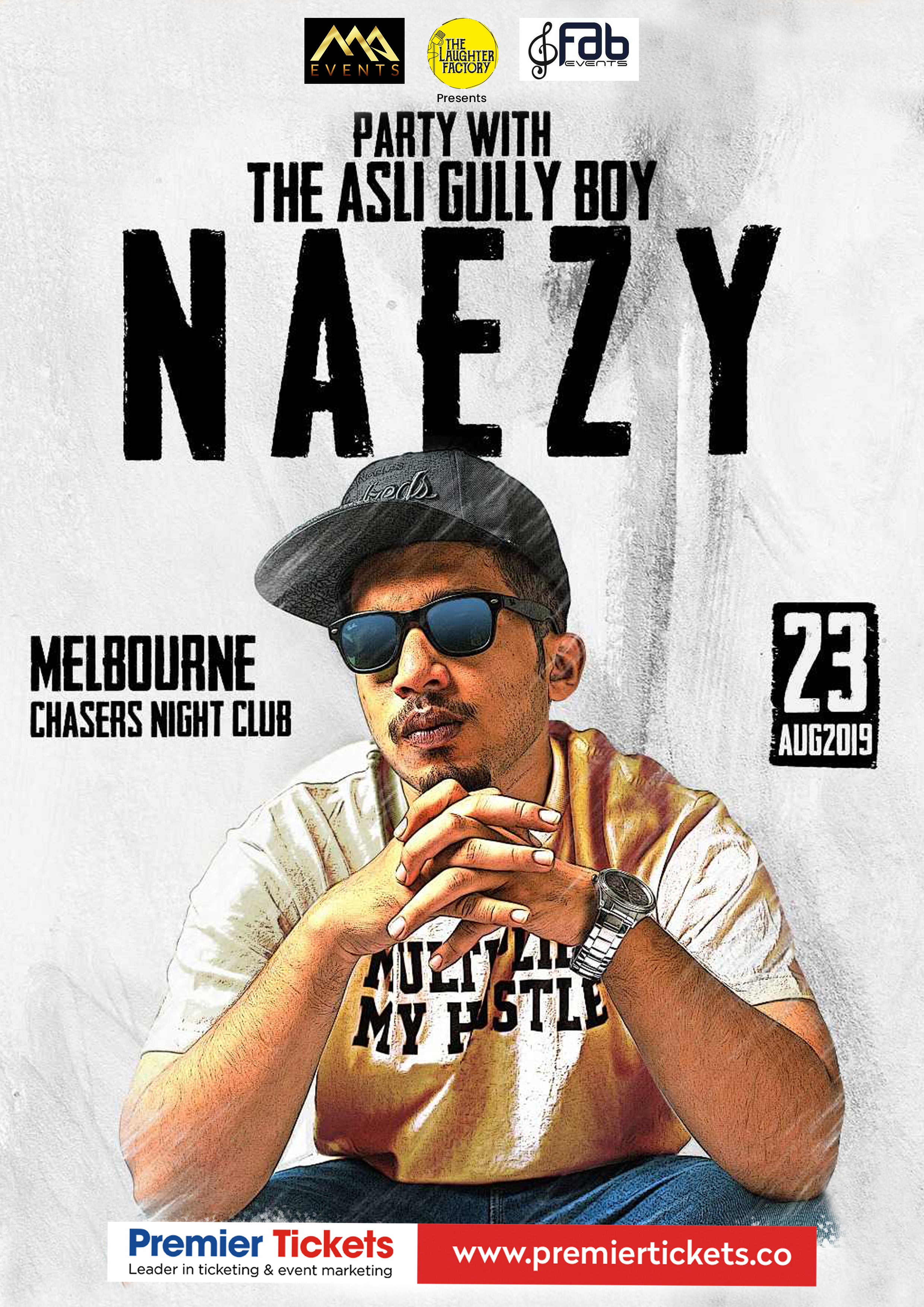 Naezy – Party with the Asli Gully Boy in Melbourne
