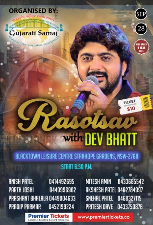 Rasotsav with DEV BHATT