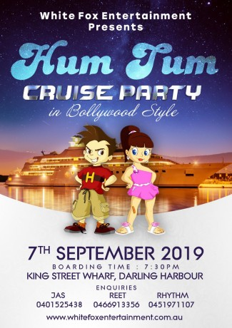 Hum Tum Cruise Party in Bollywood Style – Sydney