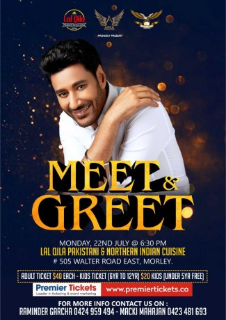 Meet & Greet with Harbhajan Mann – Perth