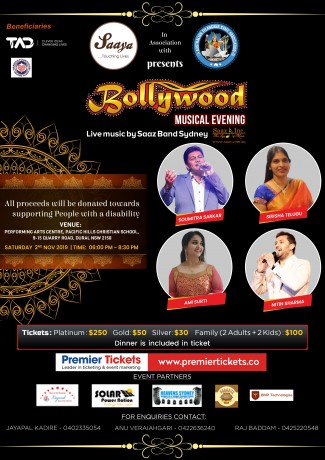 BOLLYWOOD MUSICAL EVENING