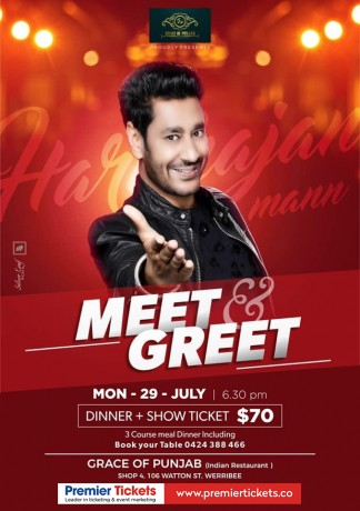 Meet & Greet with Harbhajan Mann – Melbourne