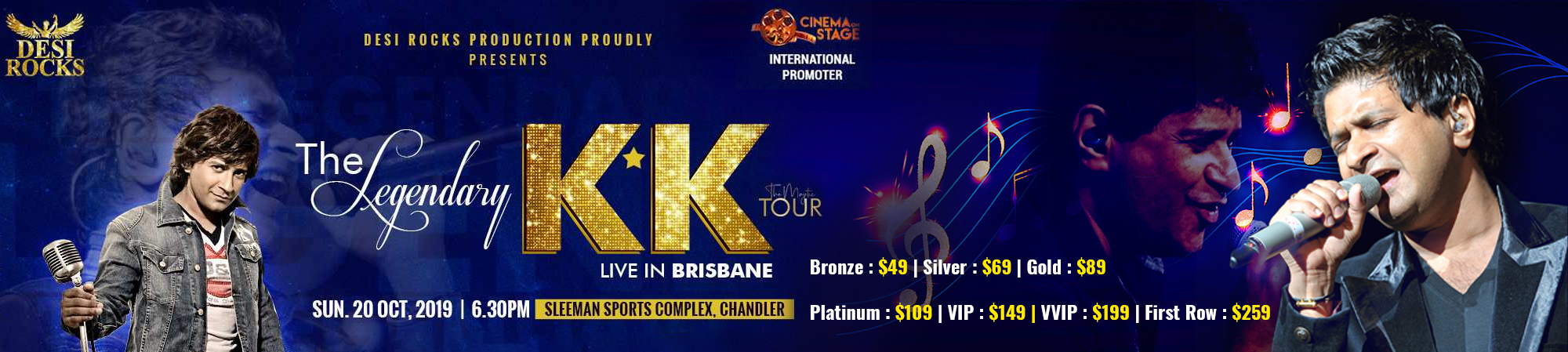 KK Live in Concert Brisbane 2019