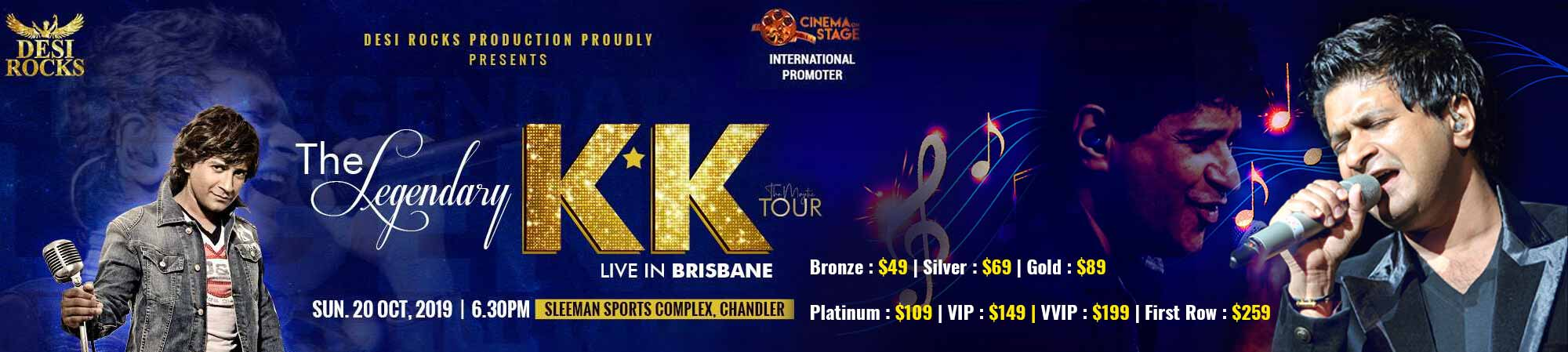 KK Live in Brisbane