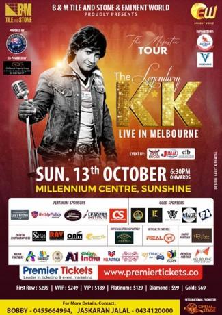 KK Live in Concert Melbourne 2019