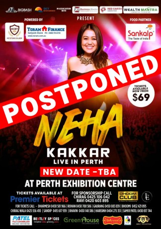 Selfie Queen Neha Kakkar Live in Concert Perth 2019