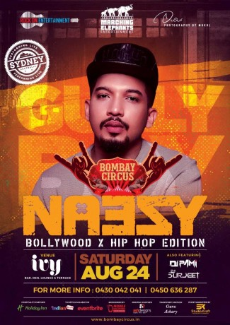 Gully Boy Naezy Live in Sydney